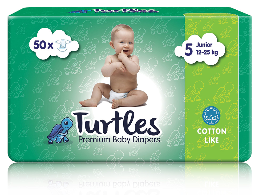 Pelene Turtles JUNIOR 5