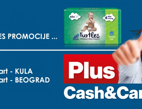 Turtles i Plus Cash&Carry marketi